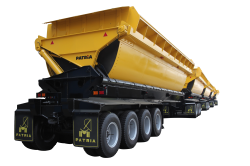 Semi trailer Side Tipper